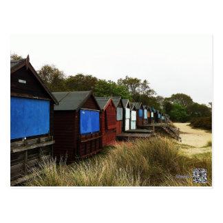 Beachhuts Postcard