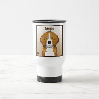 Beagle Cartoon Heart Box Coffee Mug