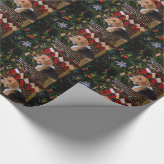 Beagle Christmas Wrapping Paper