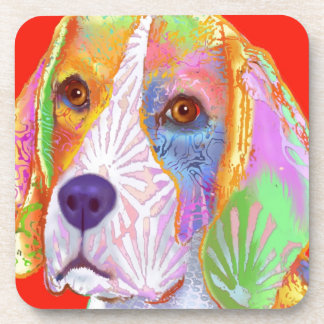 Beagle Dog Drink Coasters