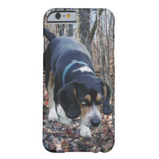 Beagle Hunting in the Woods Barely There iPhone 6 Case