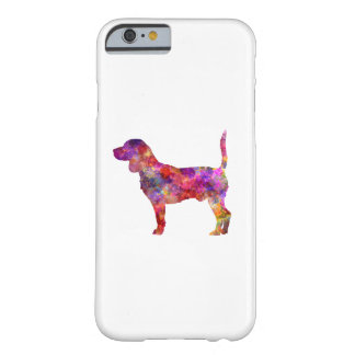 Beagle in watercolor 2 barely there iPhone 6 case