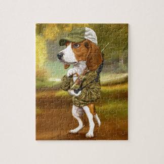 Beagle - Mighty Hunter Jigsaw Puzzle