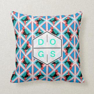 Beagle pattern cushion