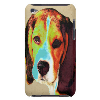 Beagle Pop Art Barely There iPod Cases