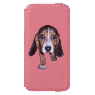 Beagle Puppy Walking - Front View Incipio Watson™ iPhone 6 Wallet Case