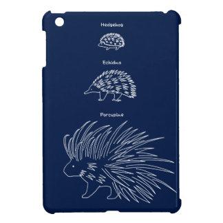 < Beam - zu (English - white > Hedgehog, Echidna Cover For The iPad Mini