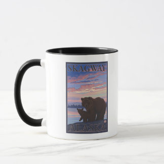 Bear and Cub - Skagway, Alaska Mug
