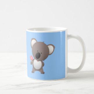 Bear Bears Ursidae Caniforms Cute Cartoon Animal Basic White Mug