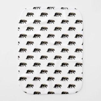 Bear Burp Cloth