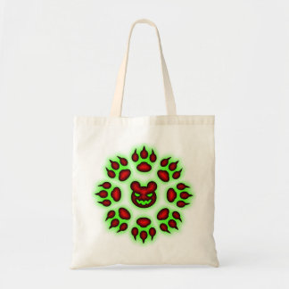 Bear Claws trick or treat tote Tote Bag