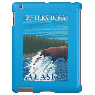 Bear Fishing in River - Petersburg, Alaska iPad Case