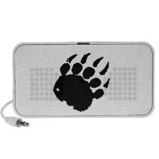 Bear Footprint Laptop Speakers