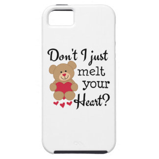 Bear Heart Melt iPhone 5 Case