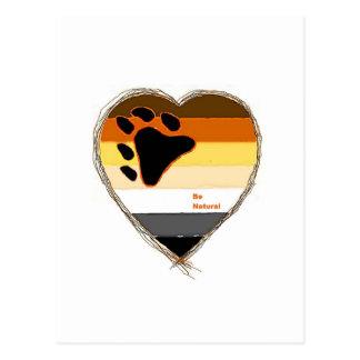 Bear Heart Postales