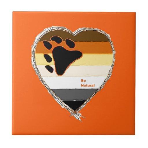 Bear Heart Tiles