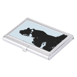 Bear Illustration Business Card Holder