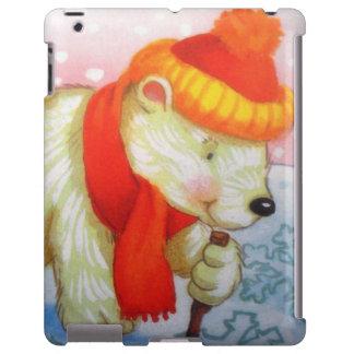 bear image iPad case