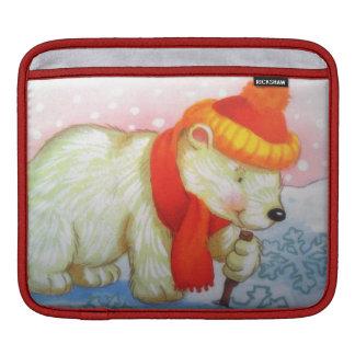 bear image iPad sleeve