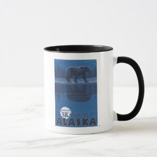 Bear in Moonlight - Skagway, Alaska Mug