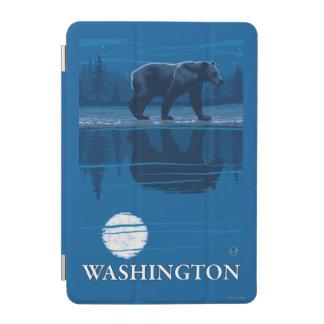 Bear in Moonlight - Washington iPad Mini Cover