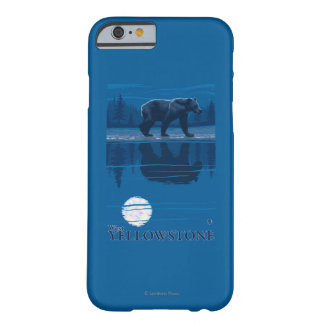 Bear in Moonlight - West Yellowstone, Montana Barely There iPhone 6 Case