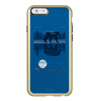 Bear in Moonlight - West Yellowstone, Montana Incipio Feather® Shine iPhone 6 Case