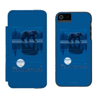 Bear in Moonlight - West Yellowstone, Montana Incipio Watson™ iPhone 5 Wallet Case