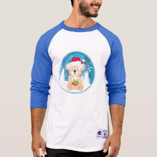 Bear in Santa hat T-Shirt