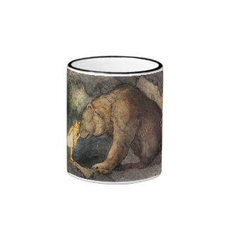 Bear Kiss Ringer Mug