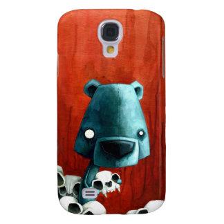 Bear skull samsung galaxy s4 cover