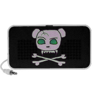 Bear Skull iPod Speaker