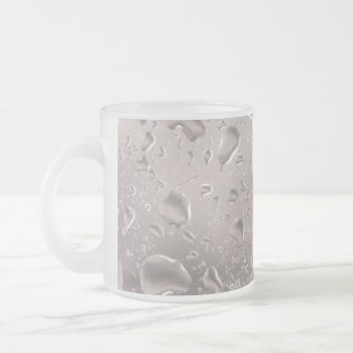 Bear View Frosted Glass Mug