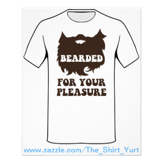 Bearded For Your Pleasure 11.5 Cm X 14 Cm Flyer