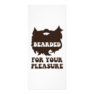 Bearded For Your Pleasure Personalised Rack Card