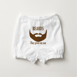 BEARDS THEY GROWN ON YOU NAPPY COVER
