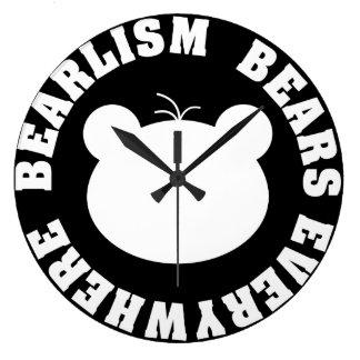 Bearlism - Bears Everywhere Clock