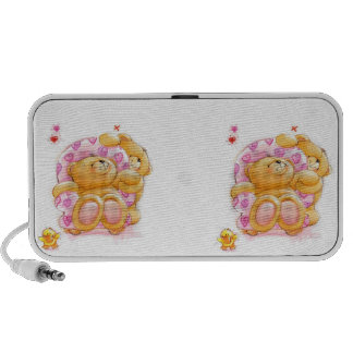 Bears and Hearts Travelling Speaker