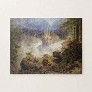 Bears in the Woods by Georg Saal Vintage Jigsaw Puzzle
