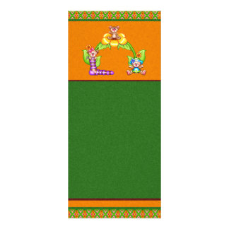 Beary Nice Day Pixel Art Customised Rack Card