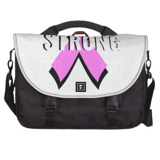 Beat Cancer- Strong Breast Cancer Pink Ribbon Computer Bag