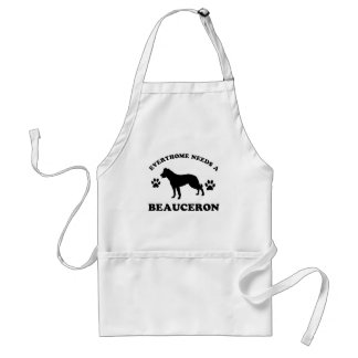 Beauceron dog breed designs standard apron