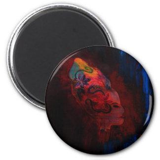 Beaute Africaine 6 Cm Round Magnet