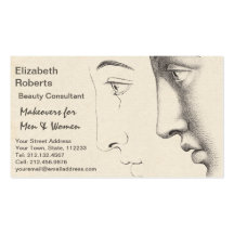 Beautician, Salon or Designer French Classic Business Card