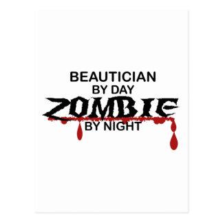 Beautician Zombie Postcard