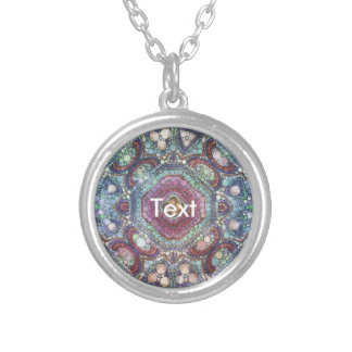 Beautiful Abstract Pattern Personalized Necklace