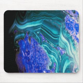 Beautiful agate-with-opal mousepad