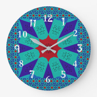 Beautiful Amazing Egyptian  Feminine Design Color Large Clock
