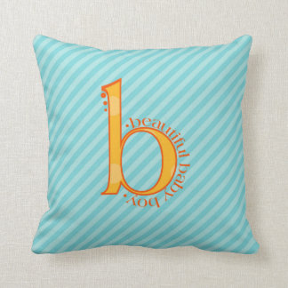 Beautiful Baby Boy Throw Pillow Decoration