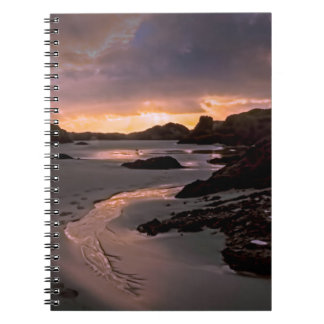 Beautiful beach photo, on Photo Notebook
